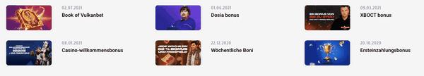 Rückblick auf das VulkanBetCasino eines der besten Online Casinos Deutschlands.